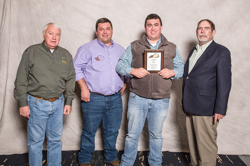 3rd Place - Irrigated. Stephen Farms, Daviess Co. AgriGold A6499T2RIB 310.74 Bu/A