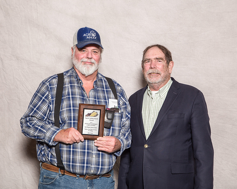 Supervisor Award - Paul Winkler, Daviess Co. Extension, No-Till Division.
