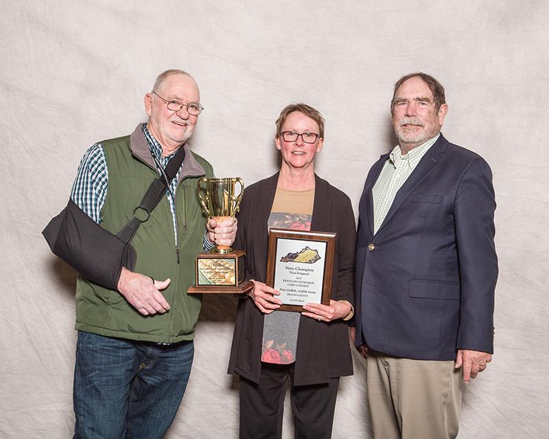 State Champion - Tillage/No-Till, Griffith Farms, Graves Co. Dekalb DKC62-08RIB 319.95 bu/A