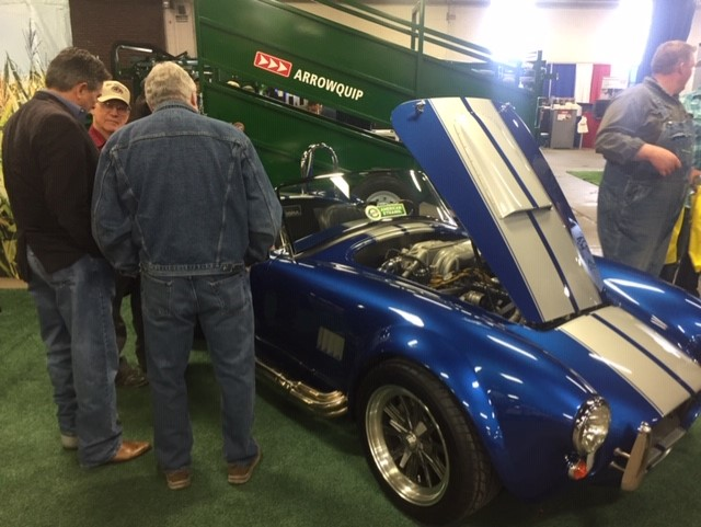 KyCorn once again showcased the E85 Cobra at the National Farm Machinery Show to promote the benefits of ethanol.