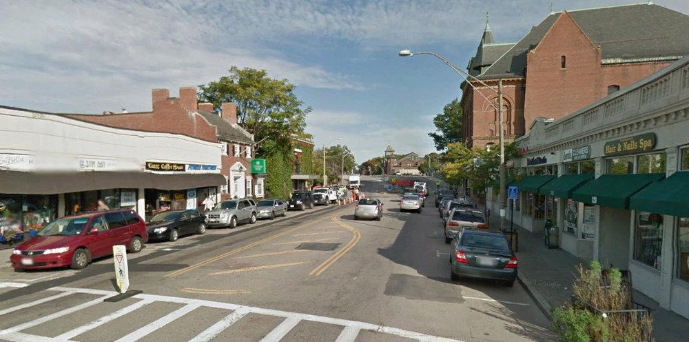 Walnut Street - Newtonville, MA