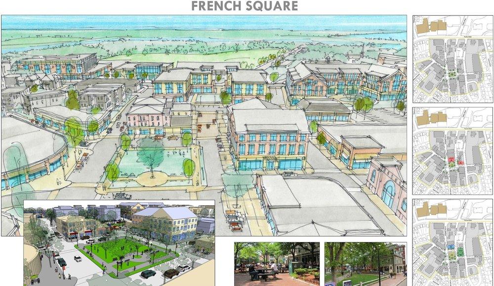 Winthrop Center Business District Master-plan