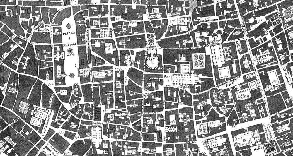 Nolli Map of Rome