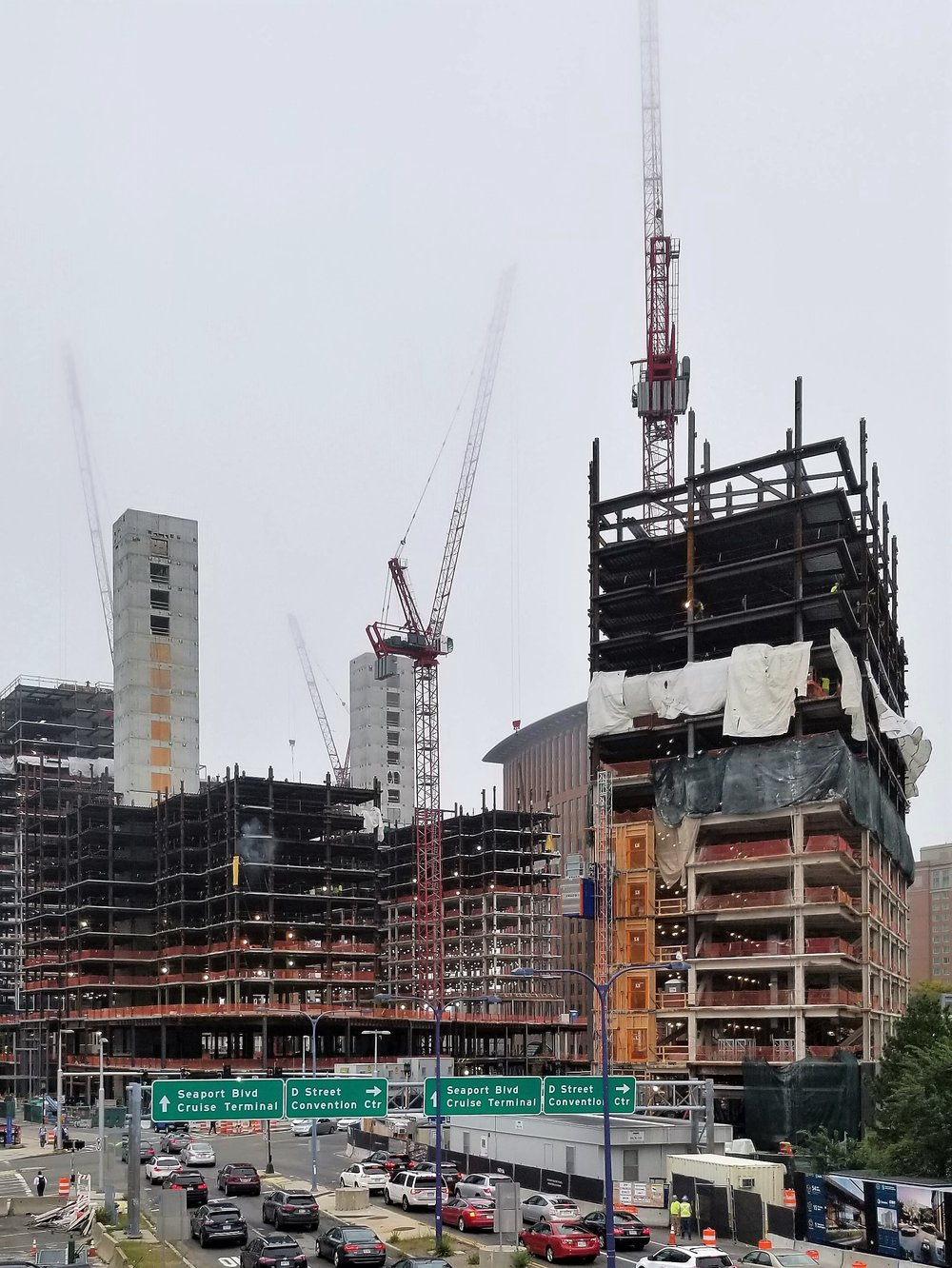 Boston's Seaport District Rapid Development
