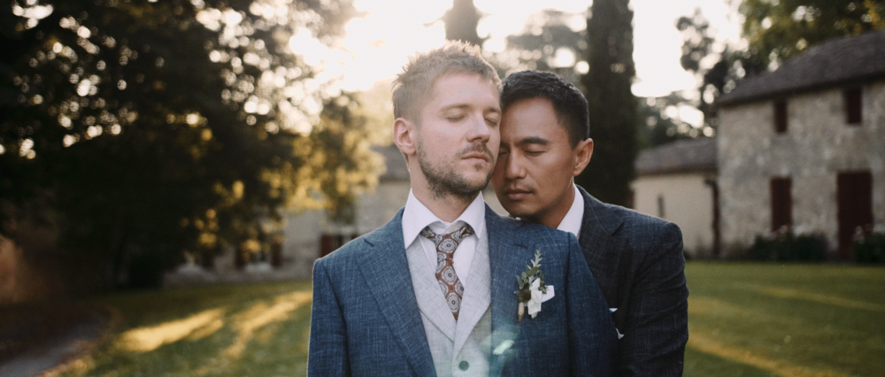 Sam & David - An elegant & intense international gay weddingChâteau de Poudenas - South West of France