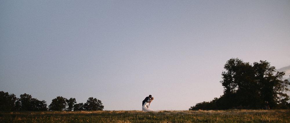 Marine & Mathieu - Romantique mariage champêtre fait maisonLe Fargal - Aveyron