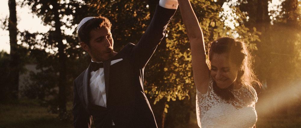 Somptueux mariage, incroyablement festif - Château de la GarrigueLaurie & Kevin
