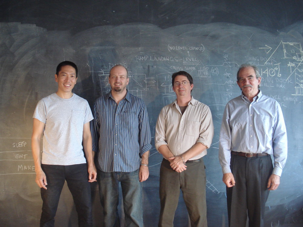rhiza A +D - from left to right: John Kashiwabara, Ean Eldred, Peter Nylen, and Richard Garfield, ,