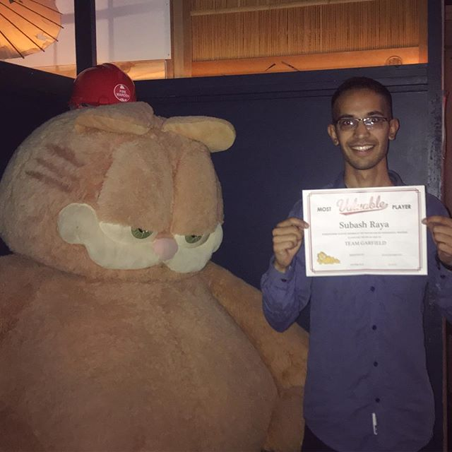 Subash! Our staff member of the month! We love your dedication and enthusiasm that you bring to every shift 🤩🤩