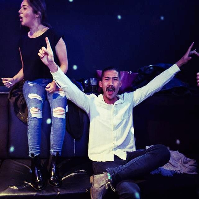 YESSSSSSSSSSSS! It's Saturday. Celebrate it like these legends with us tonight. Free entry, free karaoke, no lockouts, just, SUPER 🙌 FUN 🕺TIMES 🎉...#goros #surryhills #japanese #gorosmaryst #surryhillslocal #party #karaoke #sushi #superfuntimes