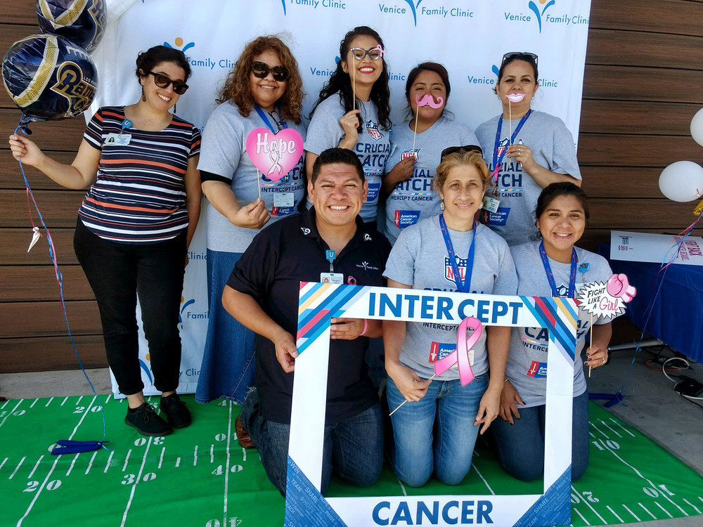 American Cancer Society partners with Health Centers - The American Cancer Society has partnered with over 100 of California's Community Health Centers to improve their Breast, Cervical, and Colorectal Cancer Screening and HPV Vaccination rates to ultimately prevent cancer or catch it early, in its most treatable stage.