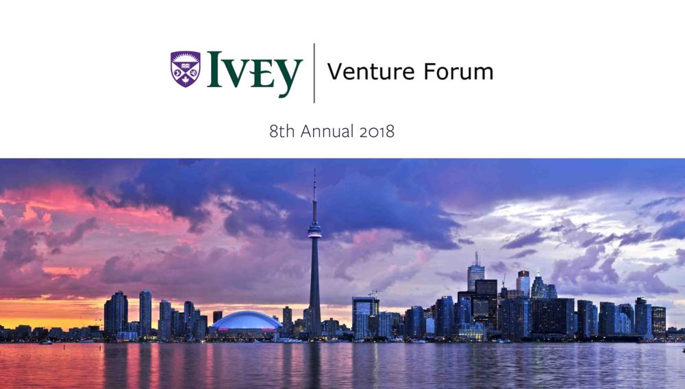 Ivey Venture Forum 2018 Toronto - Logo