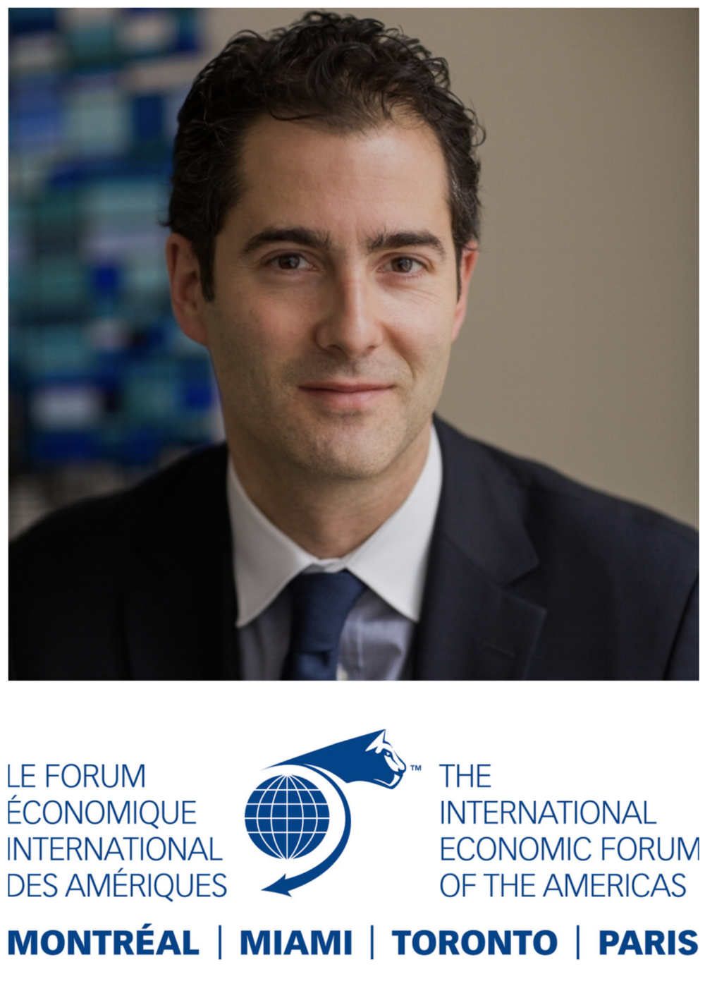 Speaker announcement - Nicholas Remillard - International Economic Forum of the Americas.png