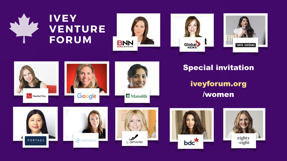 Special Invitation to Women - Ivey Venture Forum.jpeg