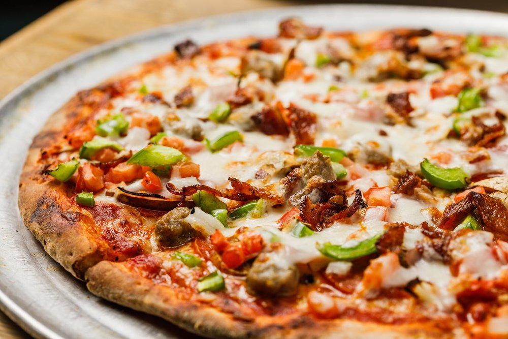 Our dough and sauce in made fresh, in house, daily.