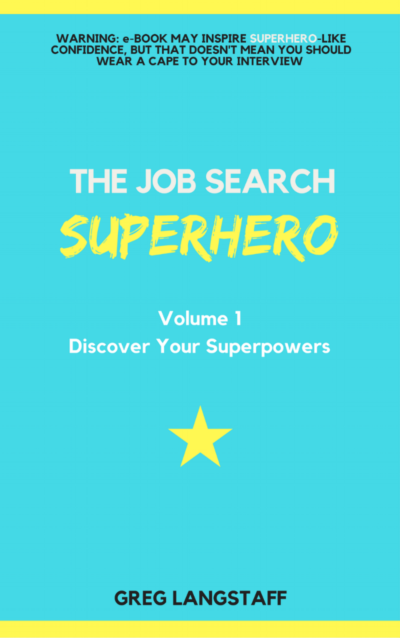 The Job Search Superhero - V1 - Cover.png