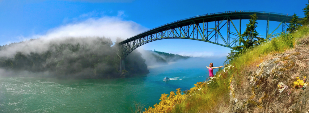 Tulip Festival & Deception Pass Hike and Wine