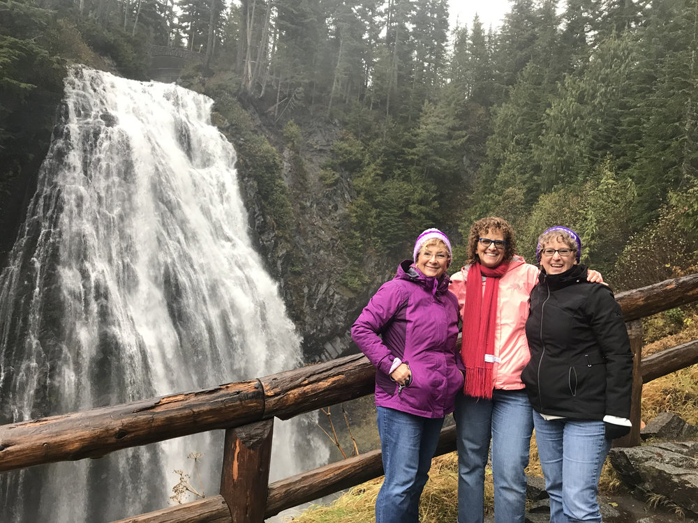 """Amazing Experience on Our Mt. Rainier Small Group Tour""     ""Our last minute decision to do Mt Rainier tour was amazing and wonderful. Michael, our tour guide was informative, very helpful and friendly. He gave us very specific informations on how to prepare best for our trip to Mt Rainier. My cousins and I enjoyed the whole tour. The short hikes were refreshing and the smell of fresh pine trees was wonderful. We had a gourmet picnic lunch prepared for us and it was a special treat indeed. The waterfalls with a beautiful rainbow was spectacular. We were blessed with a wonderful weather too. Small group tour is highly recommended. So glad that the tour was not cancelled even if their were only the three of us. Best experience in our Seattle visit. Thank you!!!""    -Linda, Chicago, IL"