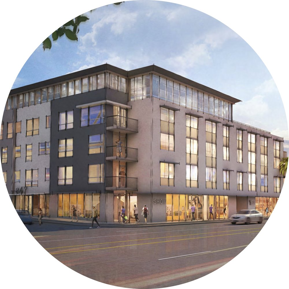 5570 melrose ave   - XX Units, Outreach to Council District 4 and the Greater Wilshire Neighborhood Council.