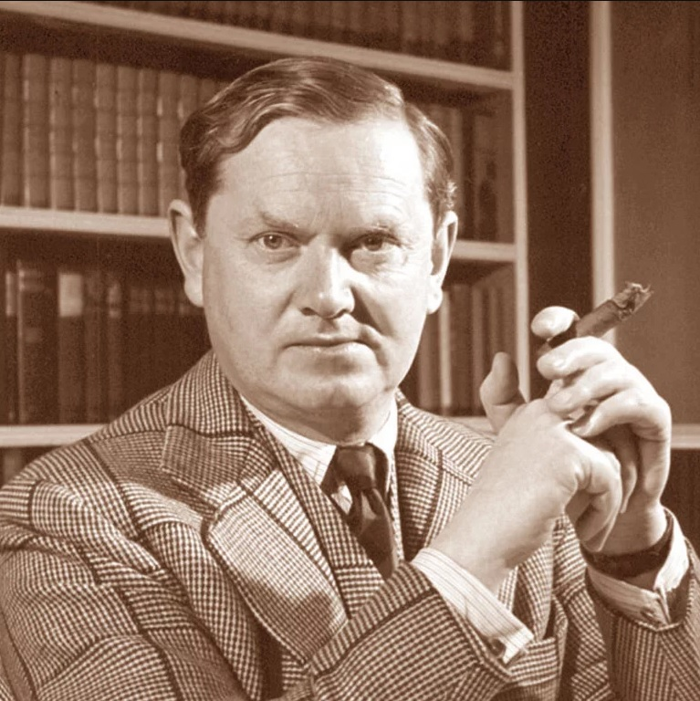 Evelyn Waugh (1903-66), master of savage satire.