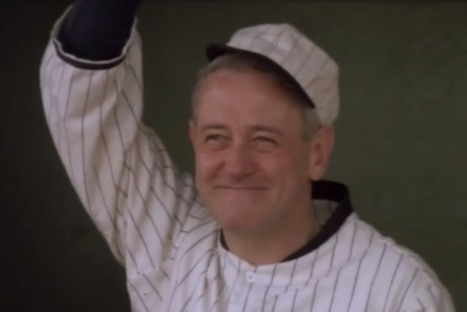 Mahoney as Kid Gleason in  Eight Men Out