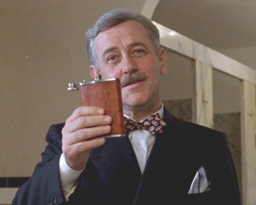 Mahoney as W.P. Mayhew in  Barton Fink 's memorable introduction
