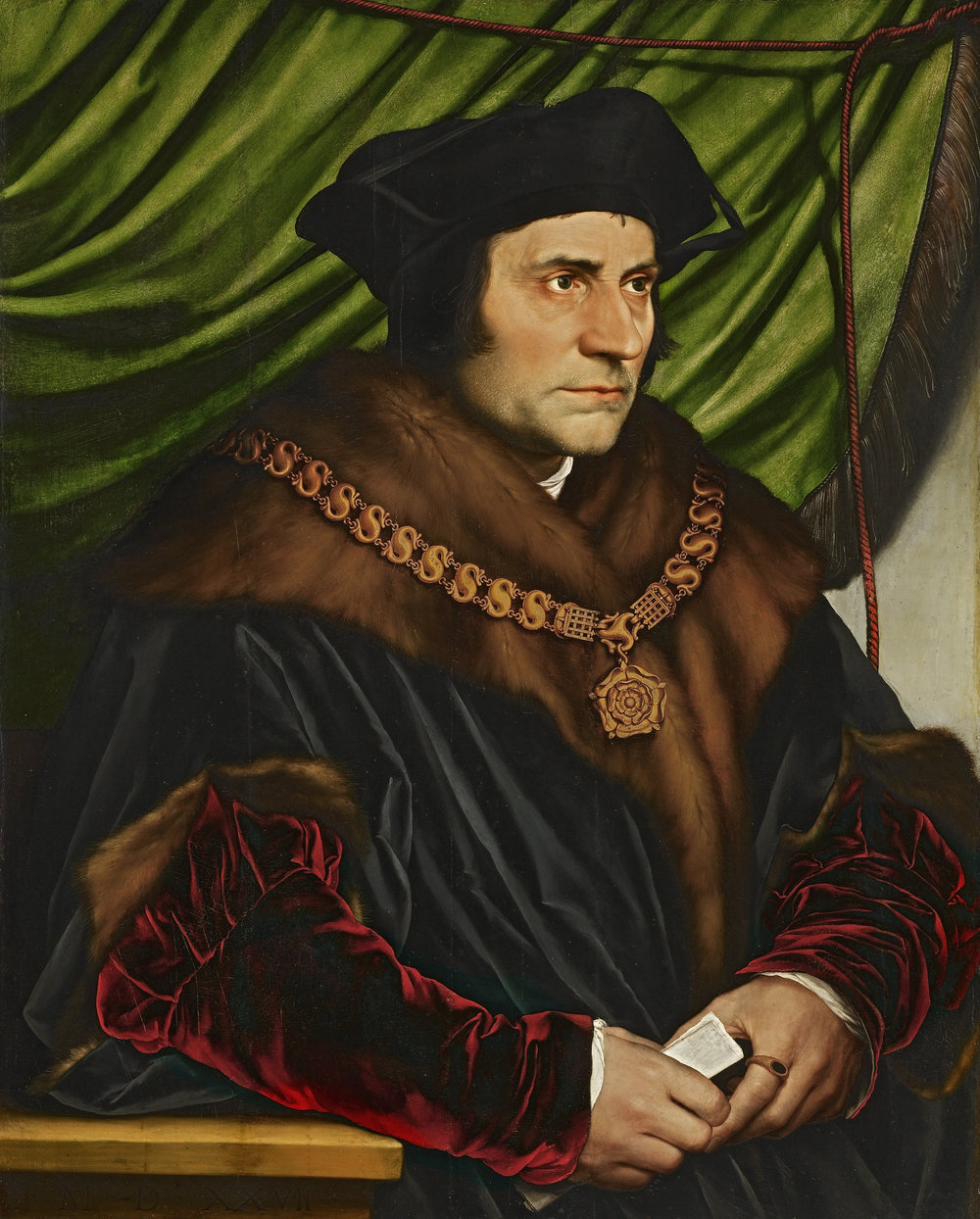 Sir Thomas More , by Hans Holbein the Younger