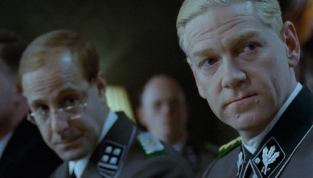 Kenneth Branagh as Reinhard Heydrich and Stanley Tucci as Adolf Eichmann in  Conspiracy