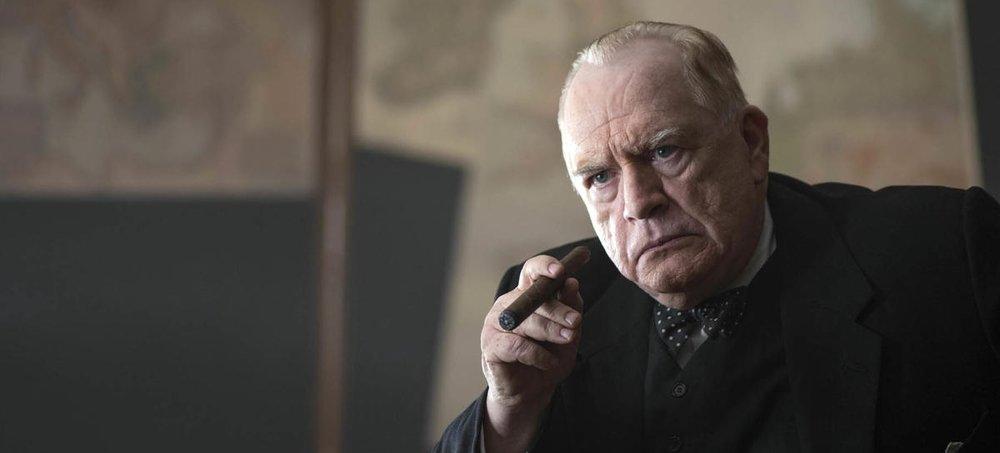 Brian Cox as Sir Winston Churchill in  Churchill