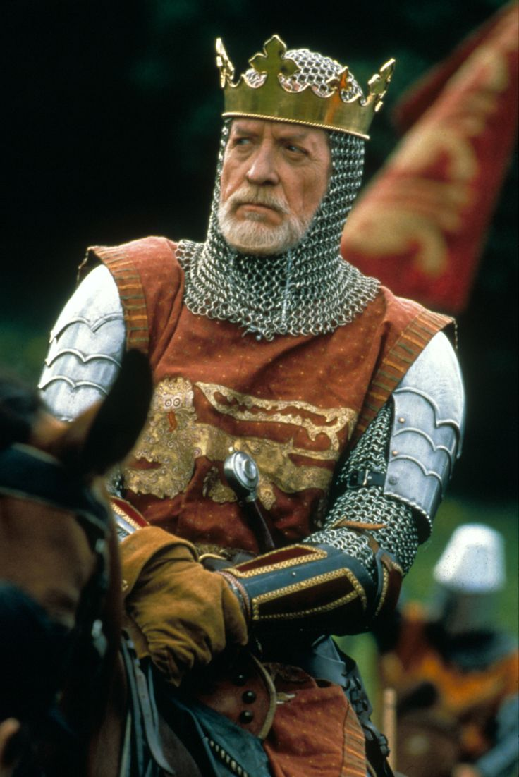 Patrick McGoohan as King Edward I of England in  Braveheart