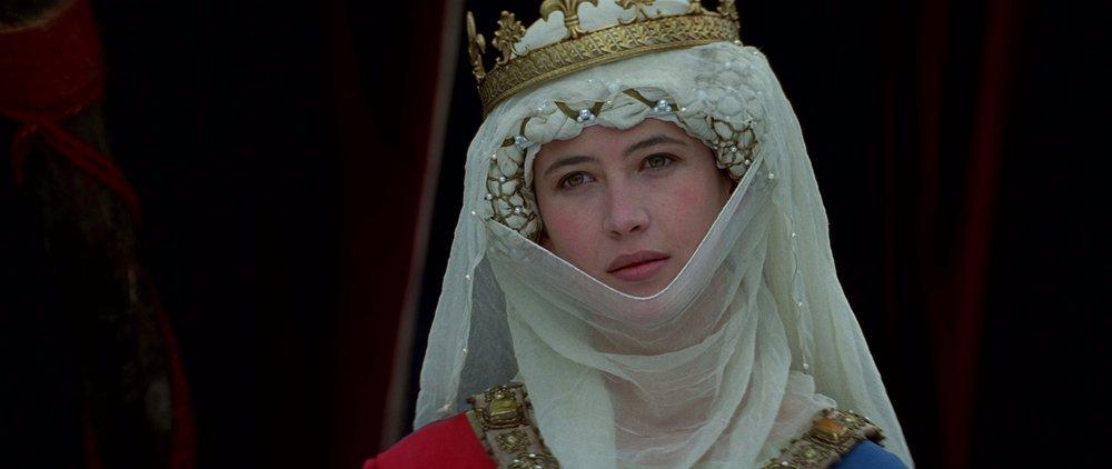 Sophie Marceau as Isabella of France in  Braveheart