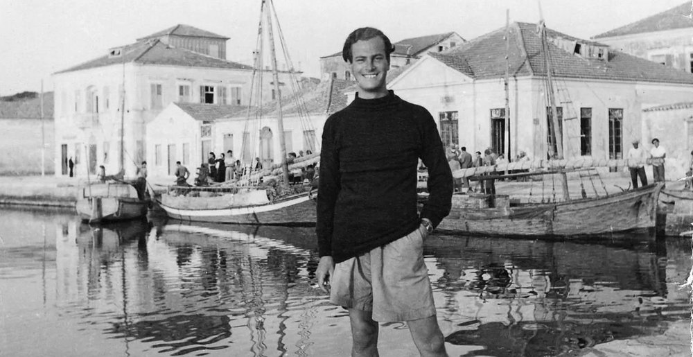 Patrick Leigh Fermor, author of  A Time of Gifts , in Greece just after World War II