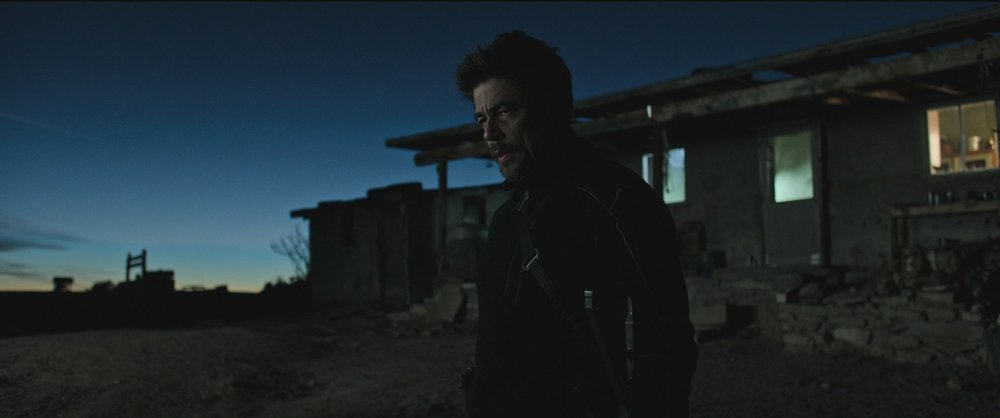 Benicio Del Toro as Alejandro in  Sicario: Day of the Soldado