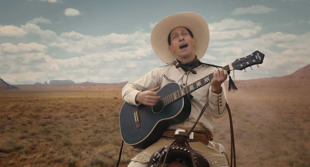 Tim Blake Nelson as Buster Scruggs in  The Ballad of Buster Scruggs