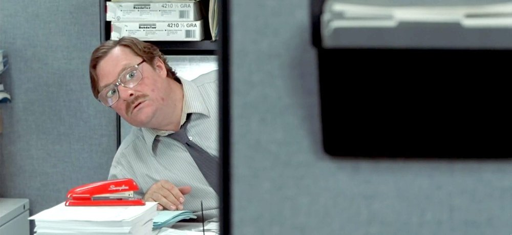 Stephen Root as Milton WADDAMS in  Office Space