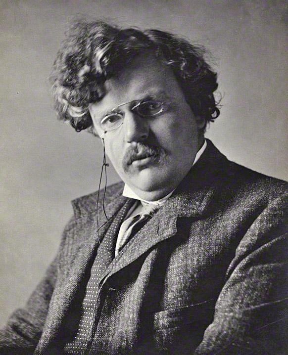 G.K. Chesterton c. 1909