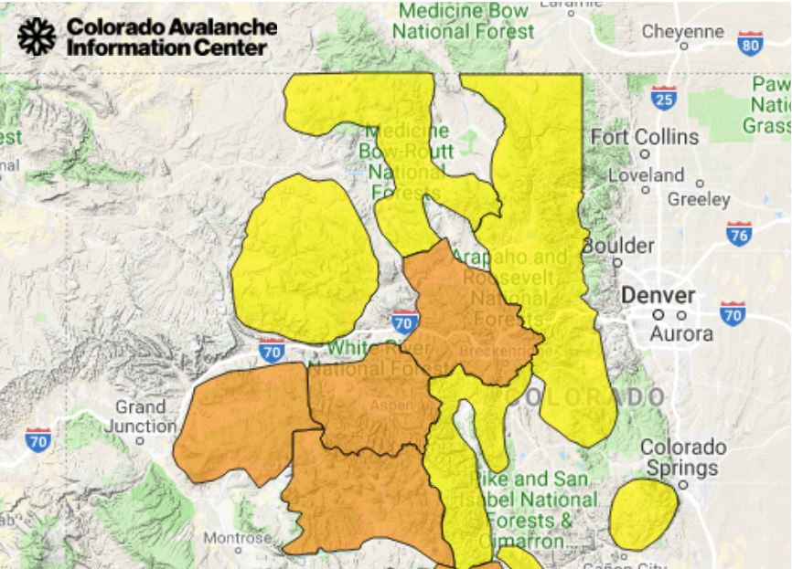 Visit CAIC for up to date avalanche conditions
