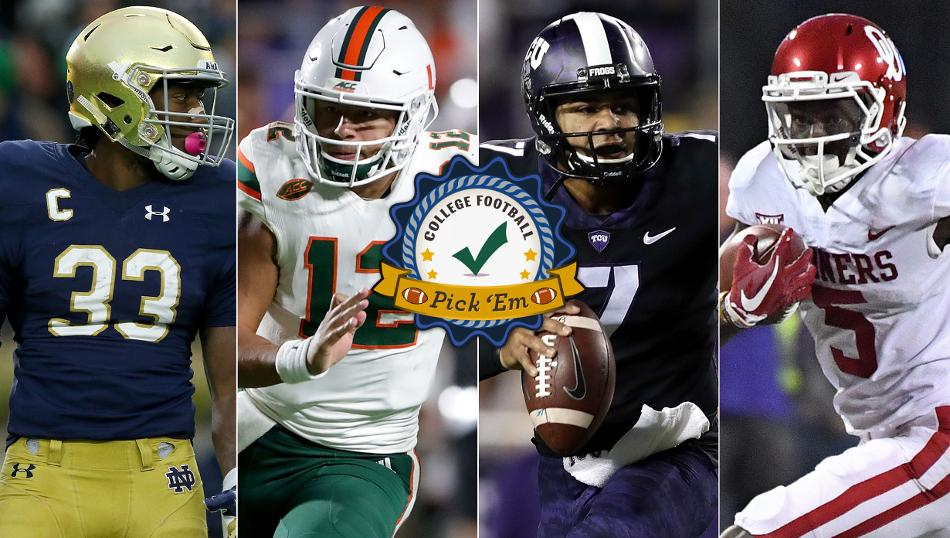 College Football Pick 'Em - A weekly preview of every key game to watch