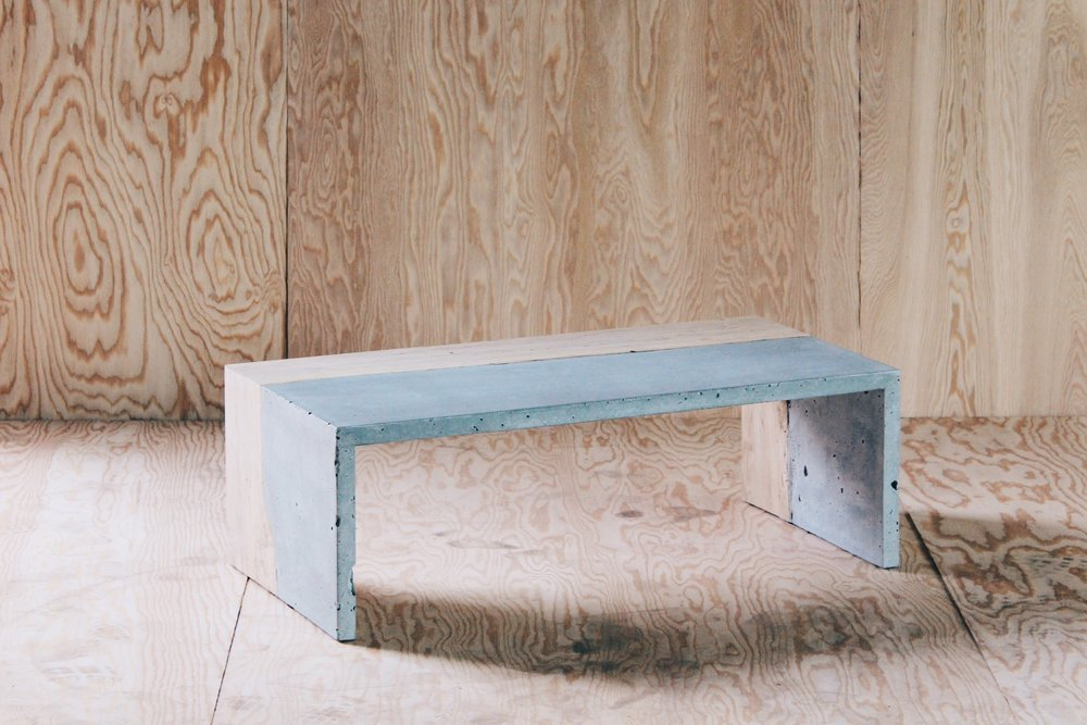 The Harlan   Wood v Concrete  Photo by Josef Harris of Bodega Ltd.
