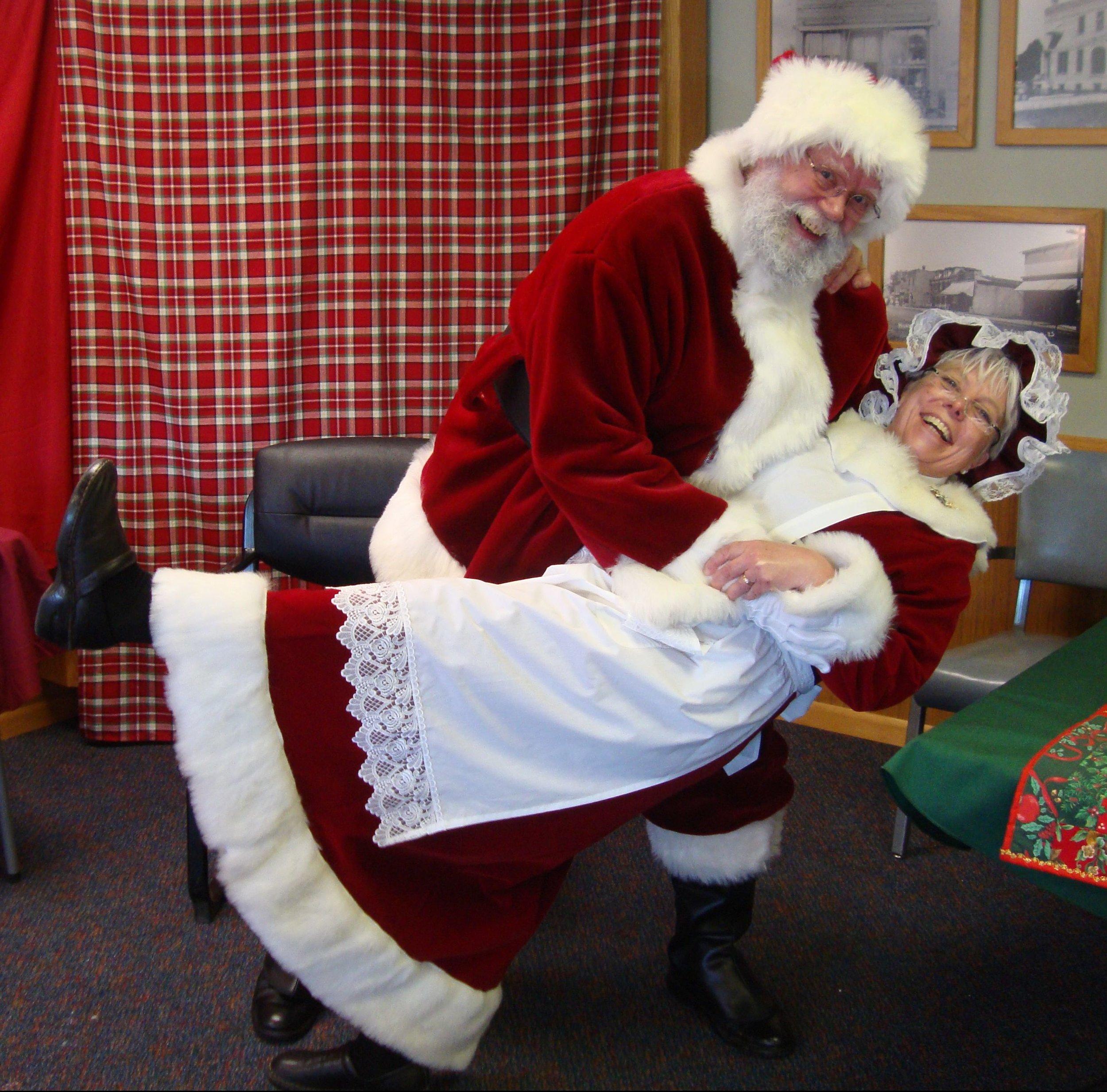 Santa and Mrs. 2015