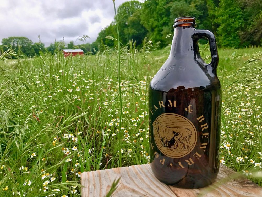 Powers Farm Brewery Red Dog Bbq