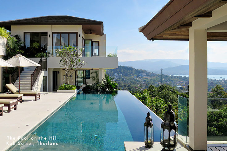 Villa for Families in Koh Samui – Your FAQs:  The Pool on the Hill  is generally a very relaxing location with beautiful views of Koh Samui from around the house, and the infinity pool deck especially.