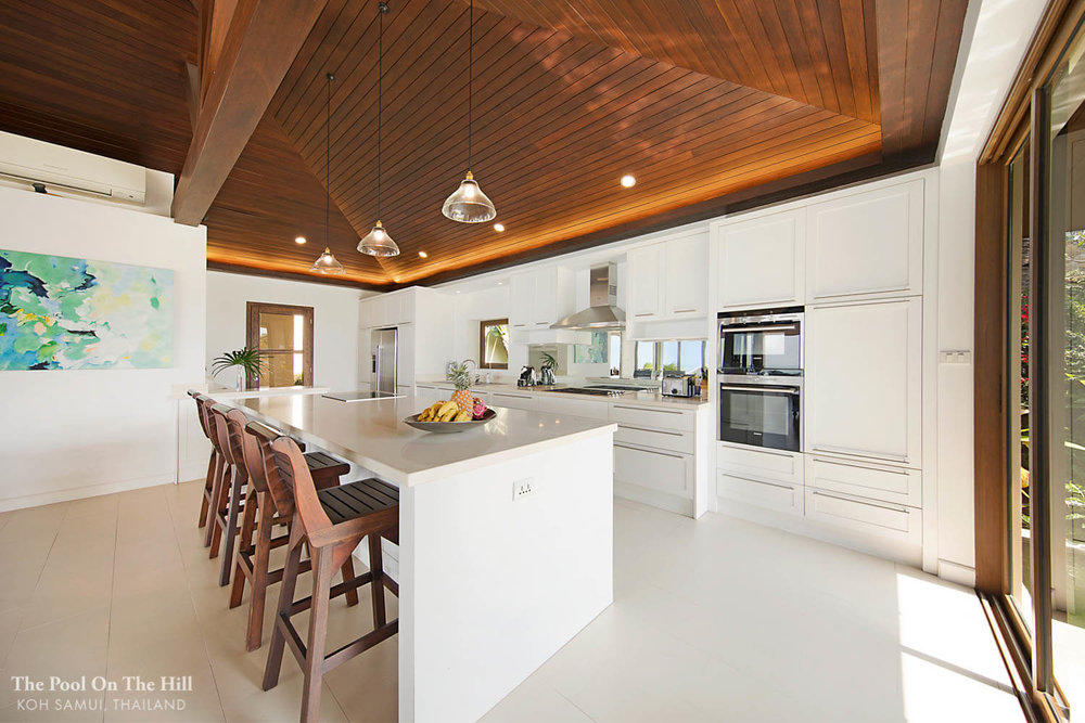 How to rent a villa in Thailand? We prefer a Thai villa with (1) a Western kitchen and indoor space to enjoy in bad weather.