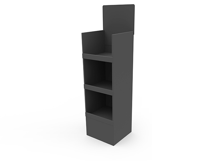 3 Shelf Display