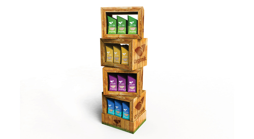 Specialised 4-Shelf Display