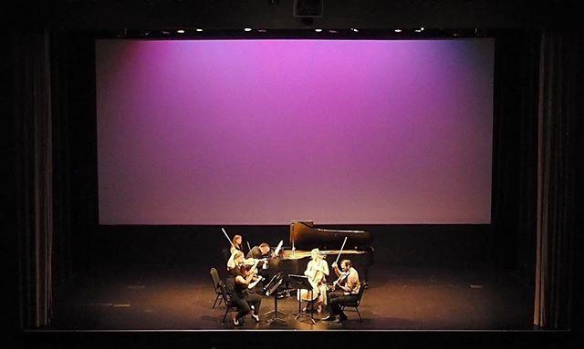 Brahms Quintet with @jonkimuraparker :)