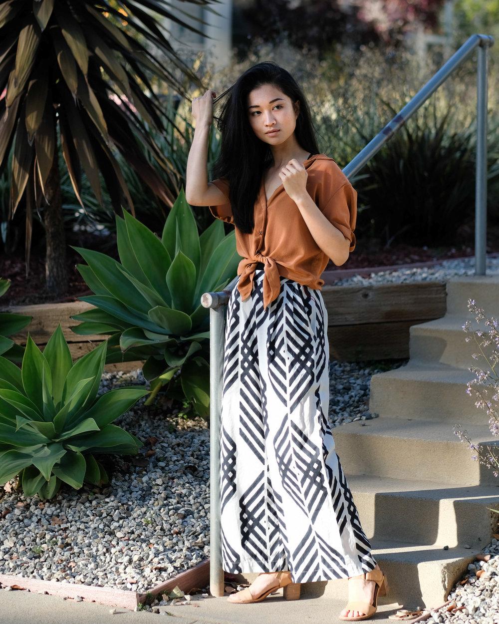 Eco Fashion Blogger Kaméa Chayne @kameachayne
