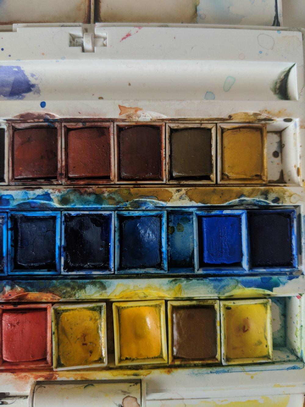 Palette Love - I don't do brown haha. Time to experiment with those unloved colours.