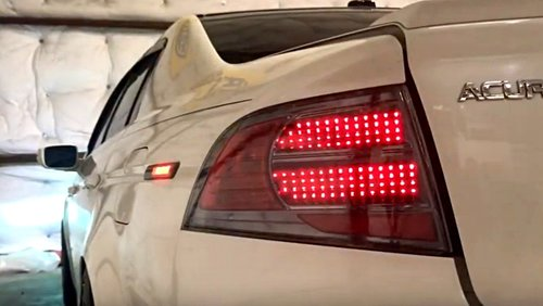 Acura TL OEM Style Sequential LED Tail Lights NTXGlow - Acura tl taillights