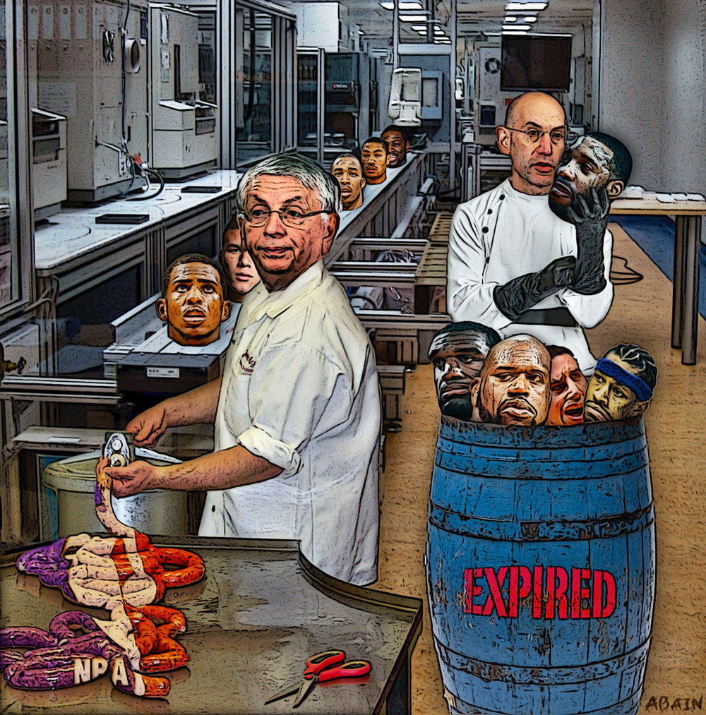 NBA's Mystery Meat
